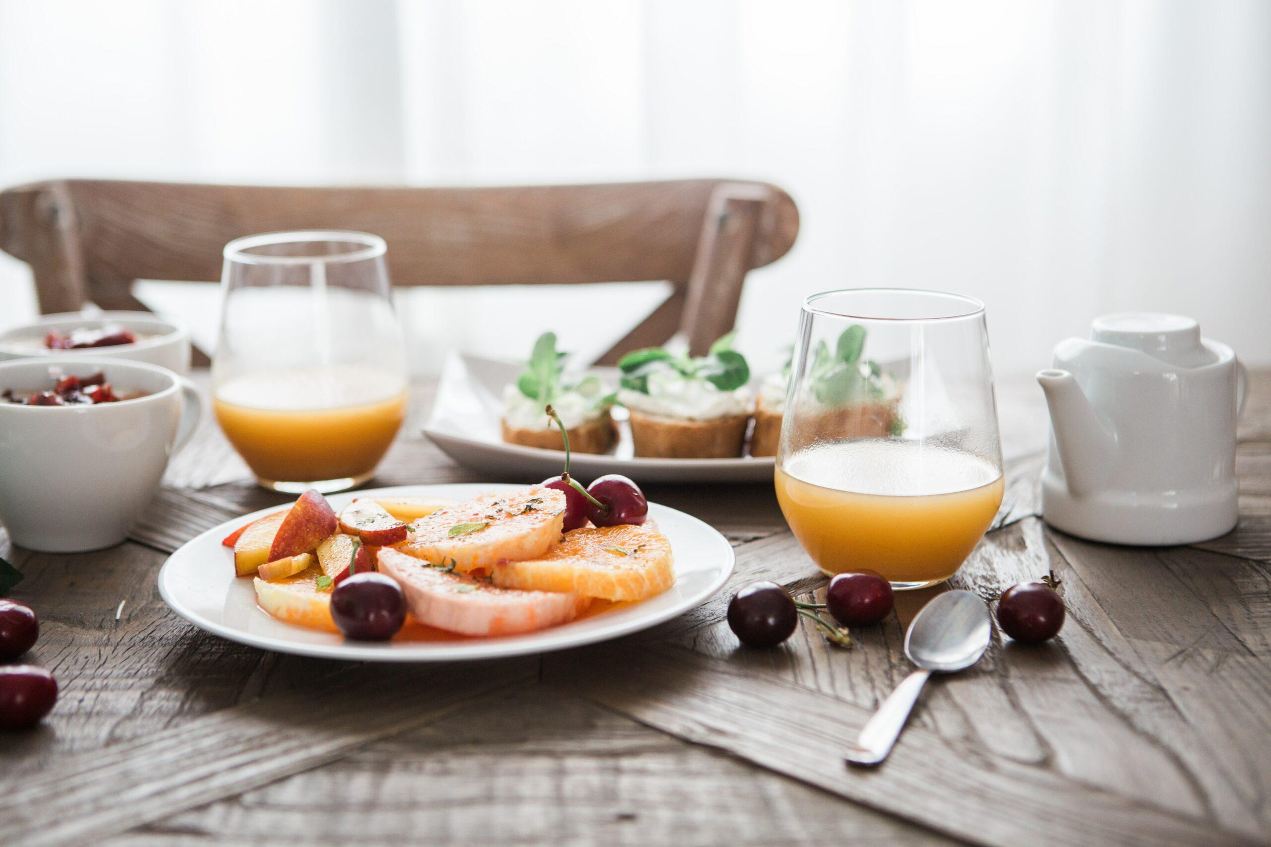 Bild på en frukost